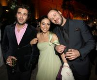 Ashraf Farah, Yasmine Al Masri and Ali Suliman at the after party of
