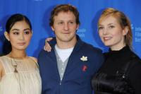 Aya Irizuki, Maximilian Bruckner and Nadja Uhl at the photocall of
