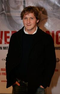 Maximilian Bruckner at the premiere of