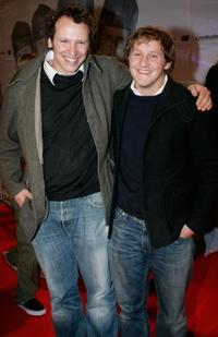 Director Marcus H. Rosenmueller and Maximilian Bruckner at the premiere of