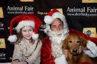 Rachel Covey and Dave Price at the Animal Fair Magazine's Second Annual Toys for dogs holiday party.