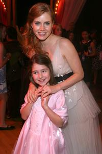 Rachel Covey and Amy Adams at the World premiere of