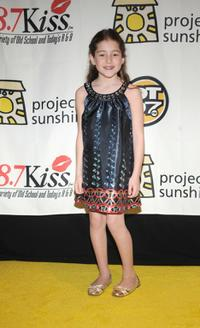 Rachel Covey at the 5th Annual Project Sunshine Vibe gala.