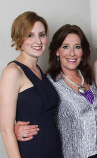 Laura Carmichael and Phyllis Logan at the Evening with Downton Abbey Raising Money For Merlin