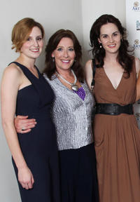 Laura Carmichael, Phyllis Logan and Michelle Dockery at the Evening with Downton Abbey Raising Money For Merlin