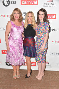 Phyllis Logan, Joanne Froggatt and Sophie McShera at the photocall of
