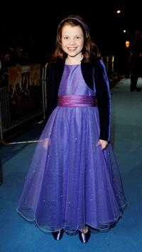 Georgie Henley at the Royal Film Performance and world premiere of