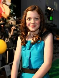 Georgie Henley at the Japan premiere of