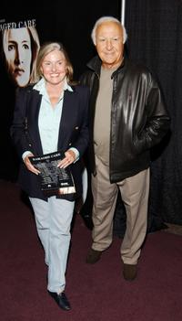 Robert Loggia and wife Audrey at the world premiere screening of