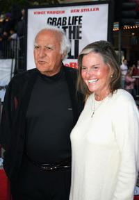 Robert Loggia and wife Audrey at the World Premiere of