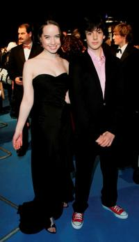 Anna Popplewell and Skandar Keynes at the Royal Film Performance and World premiere of