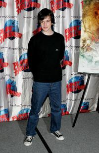Skandar Keynes at the Planet Hollywood.