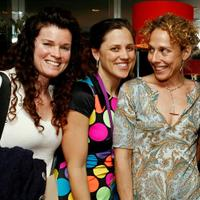 Director Tricia Regan, Heidi Ewing and Rachel Grady at the Women's Filmmaker Brunch during the 2007 Tribeca Film Festival.