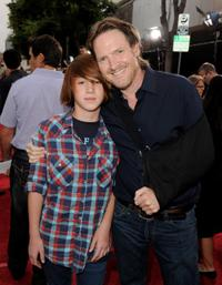 Finn Logue and Donal Logue at the California premiere of