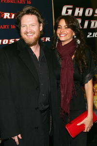 Donal Logue and Sofia Vergara at the premiere of