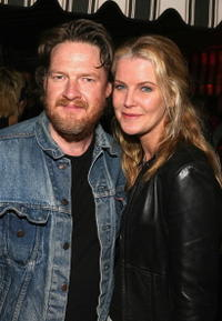 Donal Logue and Maeve Quinlan at the Milla Jovovich Hosts A Presentation of Jovovich-Hawk For MNG Collection.