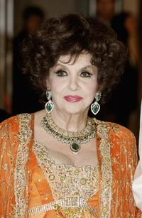 Gina Lollobrigida at the Monaco Red Cross Ball, under the Presidency of HSH Prince Albert II, in the Salles des Etoiles at the Sporting Monte Carlo.