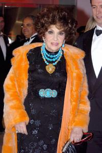 Gina Lollobrigida at the annual Rose Ball or Bal de la Rose at the Monte-Carlo Sporting Club in Monaco.
