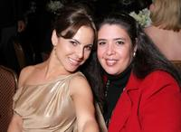 Kate del Castillo and Ligiah Villalobos at the 11th Annual Impact Awards gala.