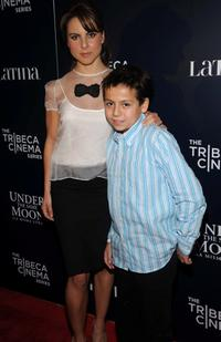 Kate del Castillo and Adrian Alonso at the screening of