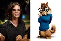 Matthew Gray Gubler voices Simon in
