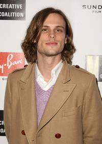 Matthew Gray Gubler at the Ray Ban Visionary Awards.