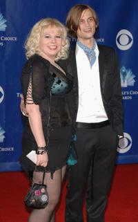 Kirsten Vangsness and Matthew Gray Gubler at the 32nd Annual Peoples Choice Awards.