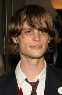 Matthew Gray Gubler at the opening night of