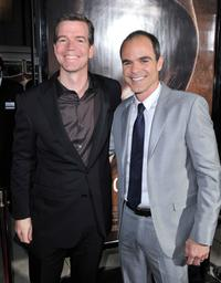 Producer Robert Lorenz and Michael Kelly at the Los Angeles premiere of