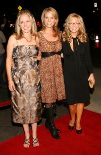 Carrie Aizley, Cheryl Hines and Rachael Harris at the premiere of