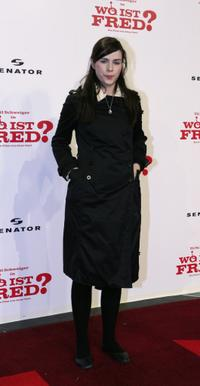 Nora Tschirner at the premiere of