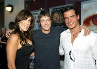 Celia Fox, Jason London and Antonio Sabato Jr. at the premiere of