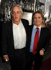 Andrew S. Karsch and Barry Scheck at the California premiere of