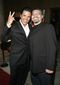 Producer Billy Rovzar and Joaquin Cosio at the West Coast premiere of