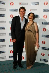 Tom Long and Daniela Farinacci at the Inside Film Awards.