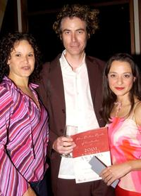 Lea Purcell, Guest and Daniela Farinacci at the 2001 Annual Film Critics Circle Awards.