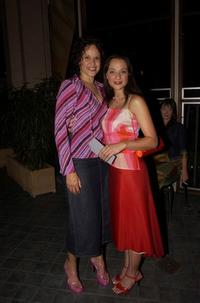 Lea Purcell and Daniela Farinacci at the 2001 Annual Film Critics Circle Awards.