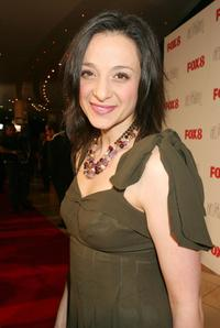 Daniela Farinacci at the 2006 Helpmann Awards.