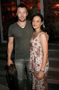 Joel Edgerton and Daniela Farinacci at the Sony Tropfest Gala Launch 2007.