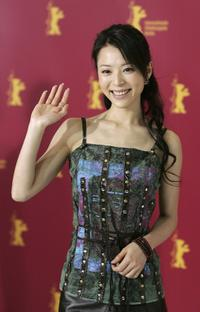 Zhang Jingchu at the photocall of