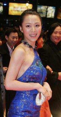 Zhang Jingchu at the closing ceremony of 55th annual Berlinale International Film Festival.