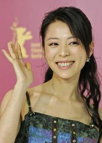 Zhang Jingchu at the International Berlin Film Festival.