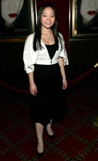 Samantha Futerman at the New York premiere of