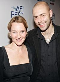 Annika Hallin and Christian Fredrik Martin at the US premiere of