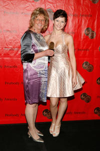 Linda Schuyler and Jordan Todosey at the 70th Annual Peabody Awards in New York.
