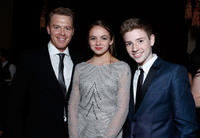 Diego Klattenhoff, Morgan Saylor and Jackson Pace at the Celebration of SHOWTIME'S 2013 Golden Globe Nominees.