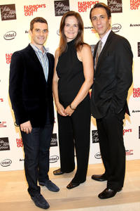 Nick Reynolds, Enid Graham and Robert Sella at the Saks Fifth Avenue in New York.