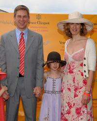 Pat Kiernan and family at the 2nd Annual Veuve Clicquot Manhattan Polo Classic VIP Party.