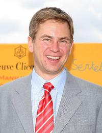 Pat Kiernan at the 2009 Veuve Clicquot Manhattan Polo Classic.