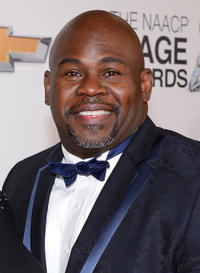 David Mann at the 44th NAACP Image Awards in California.